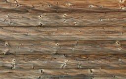 Donkere bruine oude uitstekende houten plankenachtergrond Stock Foto