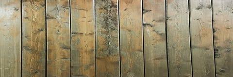 Donkere bruine zachte geverniste houten textuuroppervlakte als achtergrond Grunge waste houten het patroon hoogste mening van de  Stock Afbeelding