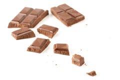 Donkere chocolade Royalty-vrije Stock Fotografie