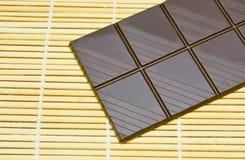 Donkere chocolade Stock Afbeeldingen