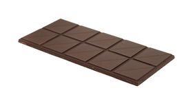 Donkere chocoladereep Stock Afbeeldingen