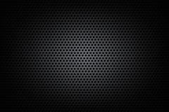 Donkere chroomzwarte en toestel achtergrondtextuur vectorillustratie stock illustratie