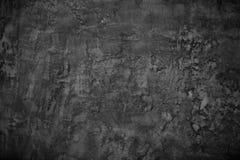 Donkere concrete textuur Stock Afbeeldingen