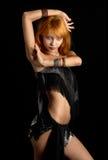 Donkere dans stock afbeelding