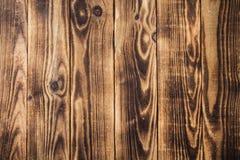 Donkere de textuur houten achtergrond van de brounboom Royalty-vrije Stock Foto's
