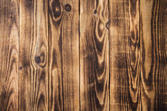 Donkere de textuur houten achtergrond van de brounboom Stock Fotografie