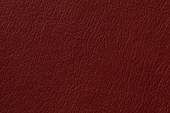 Donkere de textuurachtergrond van het gemberleer met patroon, close-up Royalty-vrije Stock Foto