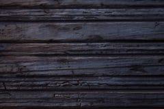 Donkere en oude houten textuur stock foto's