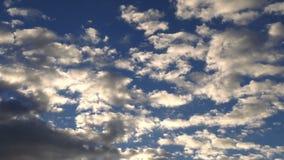 Donkere en Zachte Wolken stock footage