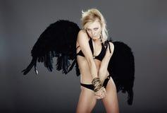 Donkere engel Royalty-vrije Stock Afbeelding