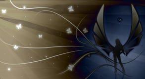 Donkere Engel stock illustratie