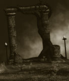 Donkere Fantasie Royalty-vrije Stock Afbeelding