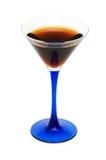 Donkere geïsoleerde cocktail Stock Foto's