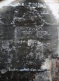 Donkere gebrande muur Stock Afbeeldingen