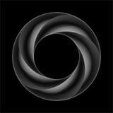 Donkere gelaagde ring vector illustratie