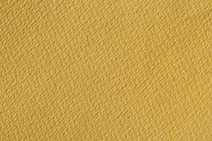 Donkere gele document textuur Royalty-vrije Stock Foto's