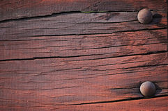 Donkere geschilderde plank Royalty-vrije Stock Foto's