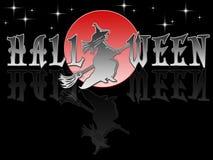 Donkere Glazy Halloween stock illustratie