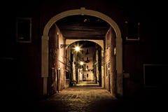 Donkere gotische scène Stock Foto