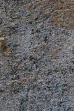 Donkere Grey Coarse Concrete Stone Wall-Textuur, Verticale Macroclose-up Oud Oud Doorstaan Gedetailleerd Natuurlijk Gray Rustic T Stock Afbeeldingen
