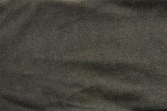 Donkere grijze doek met kleine witte punten Stock Fotografie