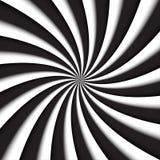 Donkere grijze en witte moderne werveling, abstracte vectorachtergrond Stock Afbeeldingen