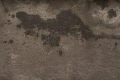 Donkere grijze het pleister van de grungemuur textuur als achtergrond Royalty-vrije Stock Fotografie