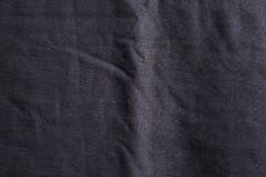 Donkere grijze stoffentextuur Stock Foto's