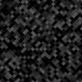 Donkere grijze vierkante patroonachtergrond - geometrisch vectorontwerp van diagonale vierkanten Stock Afbeelding