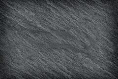 Donkere grijze zwarte leiachtergrond of textuur Royalty-vrije Stock Afbeeldingen