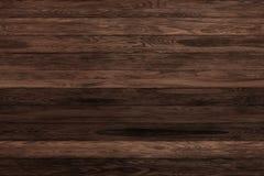 Donkere grunge houten panelen Plankenachtergrond Oude muur houten uitstekende vloer Royalty-vrije Stock Foto's