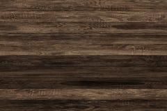 Donkere grunge houten panelen Plankenachtergrond Oude muur houten uitstekende vloer Royalty-vrije Stock Afbeeldingen