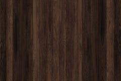 Donkere grunge houten panelen Plankenachtergrond Oude muur houten uitstekende vloer Royalty-vrije Stock Afbeelding