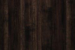 Donkere grunge houten panelen Plankenachtergrond Oude muur houten uitstekende vloer Royalty-vrije Stock Foto