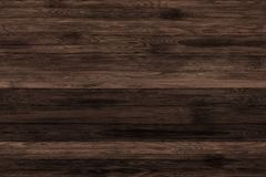 Donkere grunge houten panelen Plankenachtergrond Oude muur houten uitstekende vloer Royalty-vrije Stock Fotografie