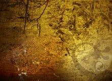 Donkere grungeachtergrond Royalty-vrije Stock Foto's