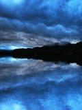 Donkere hemel Royalty-vrije Stock Foto's