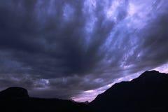 Donkere hemel Royalty-vrije Stock Fotografie