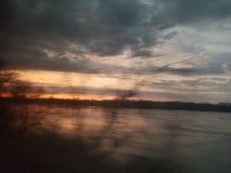 Donkere hemel in Washington stock afbeelding