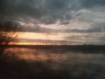 Donkere hemel in Washington royalty-vrije stock foto
