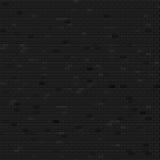 Het donkere behang van de bakstenen muurillustratie Stock Afbeelding