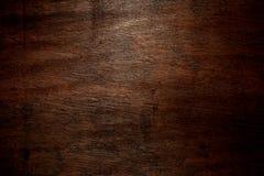 Donkere houten achtergrond Stock Fotografie
