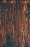 Donkere houten achtergrond Stock Afbeelding