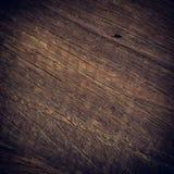 Donkere houten achtergrond, de houten oppervlakte van de raads ruwe korrel Stock Foto's