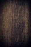Donkere houten achtergrond, de houten oppervlakte van de raads ruwe korrel Stock Foto