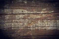 Donkere houten achtergrond, de houten oppervlakte van de raads ruwe korrel Royalty-vrije Stock Fotografie