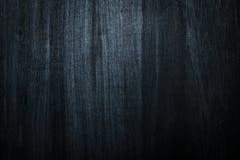 Donkere houten blauwe textuurachtergrond Royalty-vrije Stock Foto's