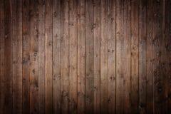 Donkere houten Comités Stock Afbeelding