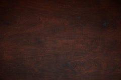 Donkere houten patroontextuur Stock Foto's
