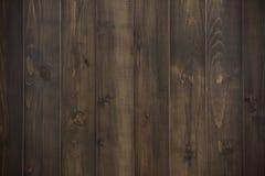 Donkere houten plank Stock Afbeeldingen